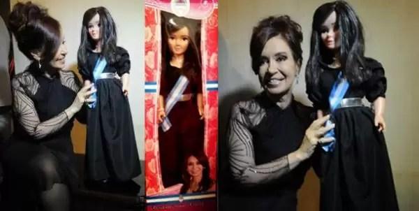Ya llegó! La Barbie de Cristina Kirchner - Fotos
