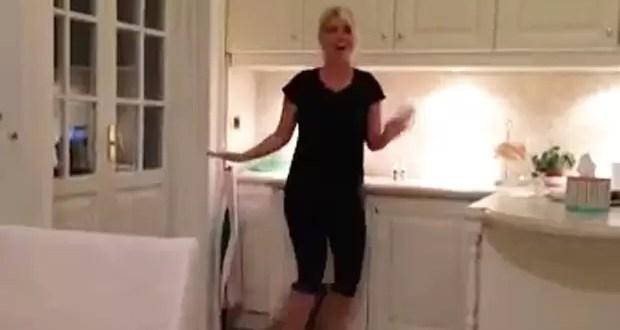 Video: El baile de cumbia de Wanda Nara a Maxi López