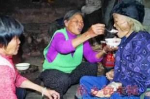 Abuela volvió a la vida el día de su funeral
