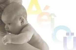 ¿Cuándo comienzan a aprender el lenguaje materno los bebés?