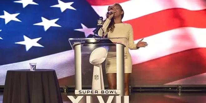 Video: Beyoncé canta en vivo el himno de Estados Unidos