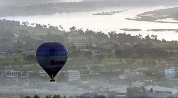19 muertos al explotar un globo aerostático - Fotos