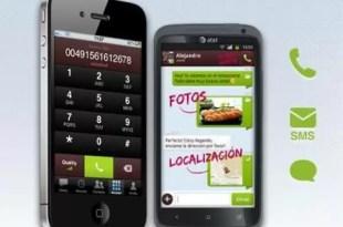 Con ésta aplicación podés llamar y mandar SMS gratis