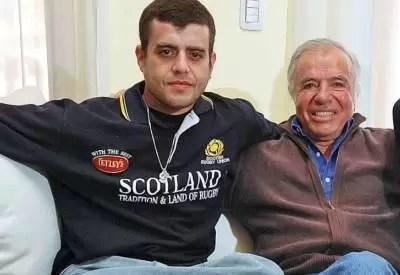 ¿Carlos Menem dejó sin empleo a su hijo?