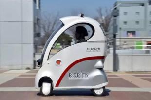 Conoce el auto de Hitachi exclusivo para ancianos - Fotos