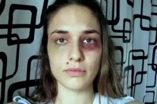 Video: Joven golpeada furor mundial