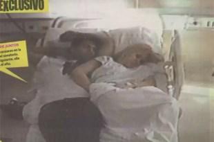 """La foto de El """"Kun"""" Agüero y Karina en la cama"""