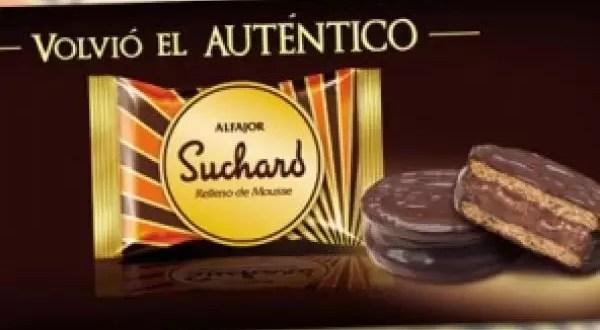 Vuelve un clásico: El alfajor 'Suchard'