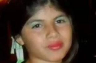 Aparece muerta Yanela Medina la nena de 11 años