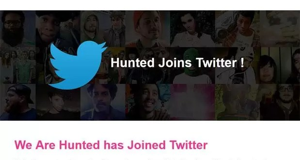 'We Are Hunted' la aplicación de música de Twitter