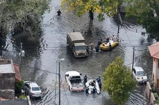 Aparece otro muerto víctima del temporal en La Plata