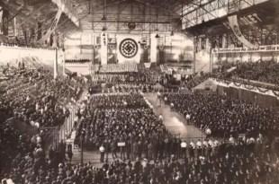 Fotos impactantes: Acto nazi en el Luna Park