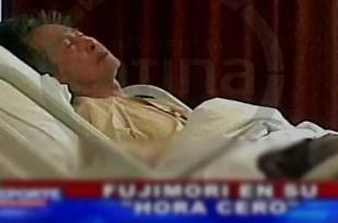 Video: Alberto Fujimori moribundo