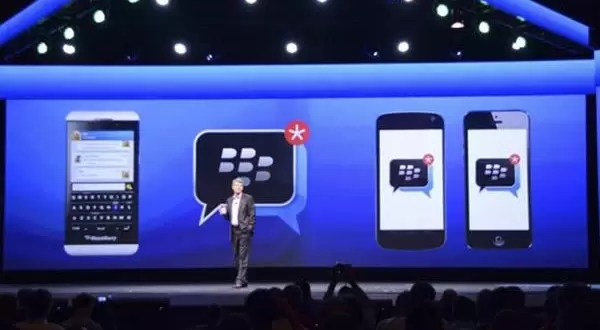BlackBerry Messenger disponible para iOS y Android