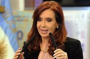 Cristina Kirchner sosbre la modificación de la Constitución