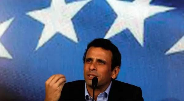 Golobovisión quita del aire a Henrique Capriles