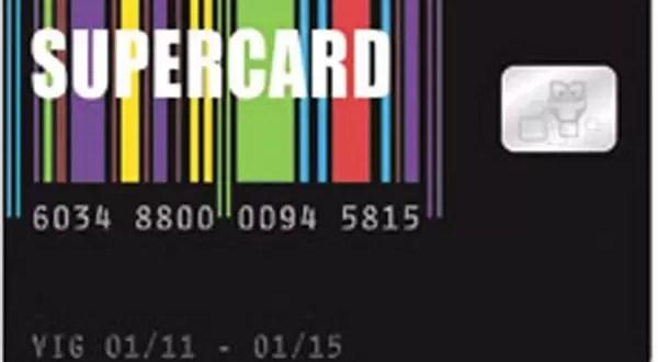 Éste es el diseño de la Súper Card
