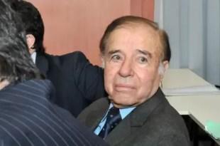 Carlos Menem: 7 años de prisión por contrabando de armas