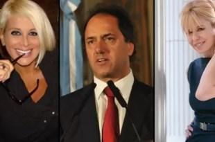 Todo sobre el romance entre Carmen Barbieri y Daniel Scioli