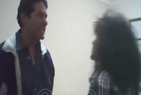 Video: ex embajador boliviano en la OEA da golpiza a su secretaria