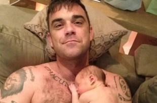 Robbie Williams le comprará las drogas a su hija