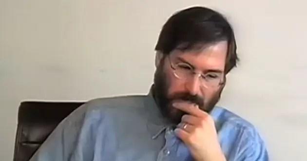 Mirá el video perdido jamás visto de Steve Jobs