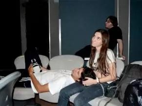 Fotos de Ángeles Rawson con su novio de 26 años