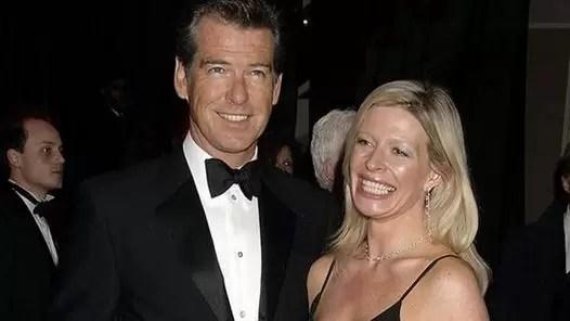 Murió la hija de Pierce Brosnan