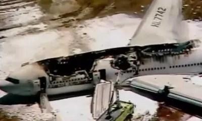 Video: Así fue el accidente de avión en San Francisco