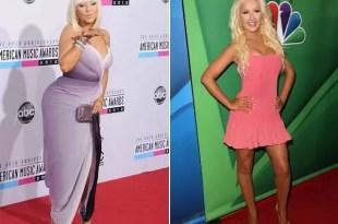Christina Aguilera antes y después de recuperar su figura - Fotos