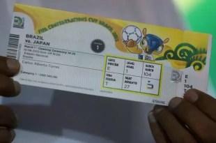 Cuánto cuestan las entradas del Mundial Brasil 2014