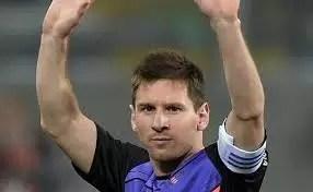Por qué se enojó Lio Messi en el partido benéfico de Lima
