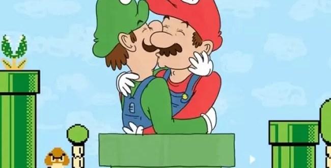 Mario Bros y Luigi son pareja gay