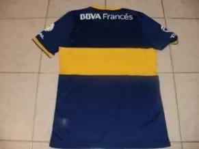 Más fotos de la nueva camiseta de Boca