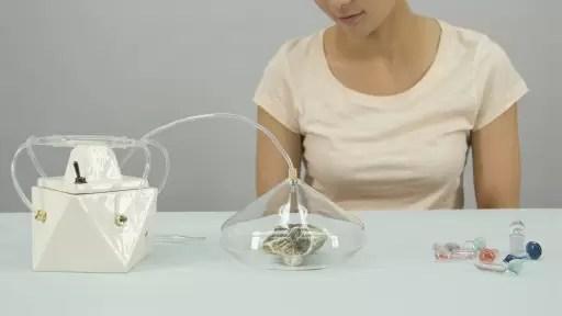 Diseñan una cámara que retiene olores