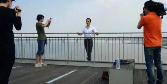 Programa de TV filma suicidio de un hombre