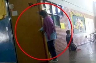 Video espeluznante: maestra encierra a alumno de jardín