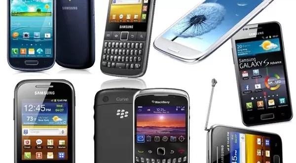 Los smartphones más vendidos del país