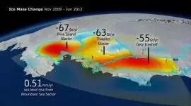 El deshielo de la Antártida está alterando la gravedad