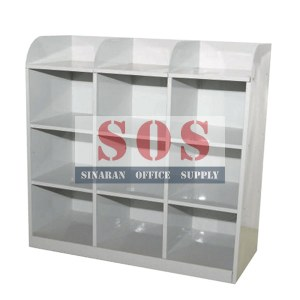 S113/B-9 Pigeon Hole Cabinet