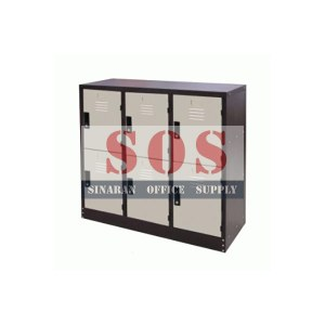 S127/A-Half Height 6 Compartment Locker