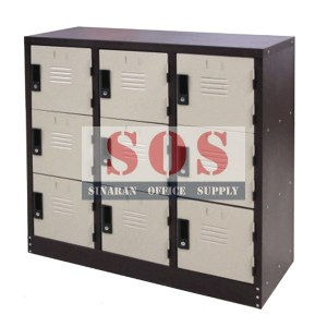 S129/A-Half Height 9 Compartment Locker