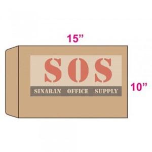 Brown Envelope 10 x 15-250pcs