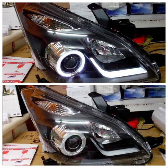 headlamp grand new veloz toyota yaris trd for sale head lamp and moulding avanza aty1186 b7w2h bh all xeniaveloz projector led bar angel eyes crystal black rtf