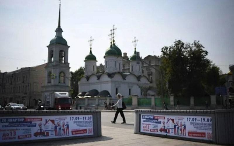 Pilihan Raya Dewan Rendah Parlimen Rusia akan diadakan pada Jumaat hingga Ahad ini. - Foto AFP