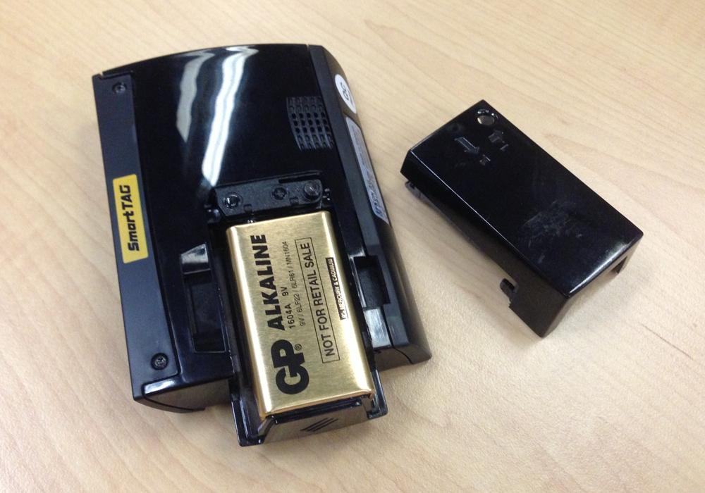 Bateri SmartTAG perlu diselenggara dan ditukar dua bulan sekali bergantung pada penggunaan.     Bateri SmartTAG perlu diselenggara dan ditukar dua bulan sekali bergantung pada penggunaan.