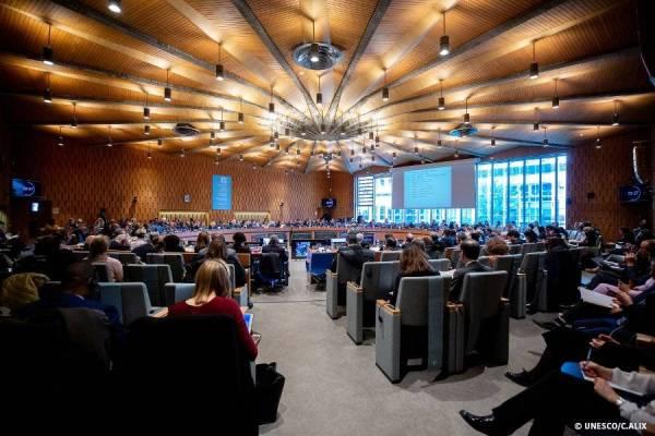 Persidangan sesi ke-206, Lembaga Eksekutif UNESCO di Paris, baru-baru ini.