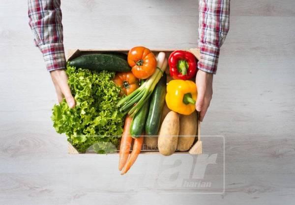Golongan jejaka disarankan makan lima kali sehari dan memperbanyakkan sayur serta buah-buahan.