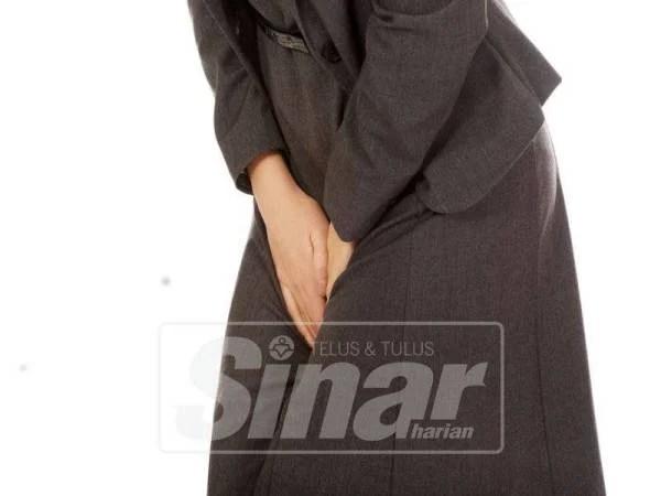 KENCING tidak lawas membuatkan wanita sukar untuk menahan kencing.