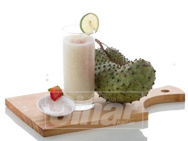 JUS durian belanda sangat sedap baik untuk kesihatan.